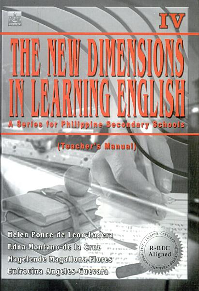 The New Dimensions In Learning English Iv Tm 2003 Ed