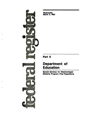 Application for Grants Under the Student Support Services Program