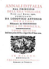 Annali d'Italia, dal principio dell'era volgare sino all'anno: Volume 5