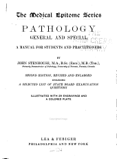 Pathology, General and Special: A Manual for Students and Practitioners