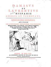 Damasus et Laurentius Hispanis asserti et vindicati