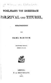 Parzival und Titurel: Volume 3