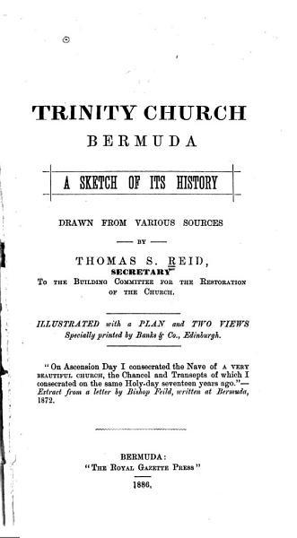 Download Trinity Church  Bermuda Book