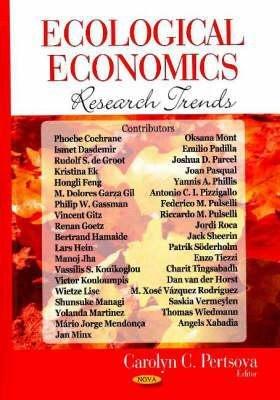 Ecological Economics Research Trends PDF