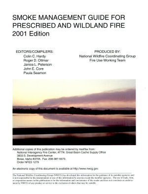 Smoke Management Guide for Prescribed and Wildland Fire