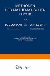Methoden der Mathematischen Physik: Erster Band, Ausgabe 2