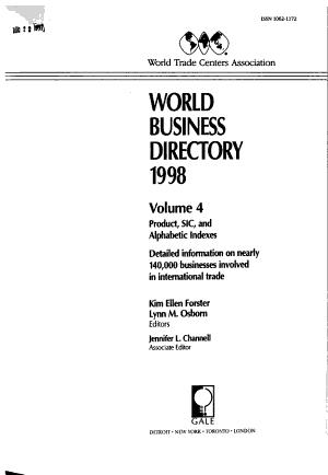 World Business Directory PDF