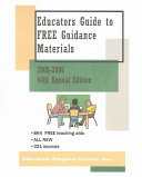 Educators Guide to Free Guidance Materials 2005-2006