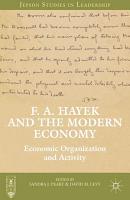 F  A  Hayek and the Modern Economy PDF