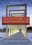 Perspectives on Contemporary Issues  with 2016 MLA Update Card