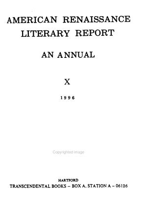 American Renaissance Literary Report