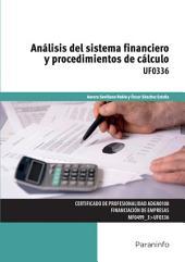 UF0336 - Análisis del sistema financiero y procedimientos de cálculo