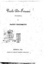 Paolo De-Fornari tragedia di Paolo Giacometti