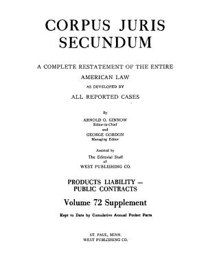 Corpus Juris Secundum