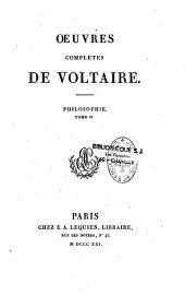 Oeuvres complètes de Voltaire: Volume62