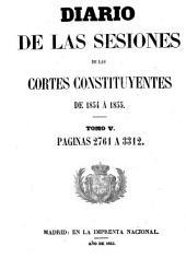 Diario de las sesiones de Cortes: Volumen 5
