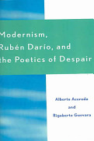 Modernism  Rub  n Dar  o  and the Poetics of Despair PDF