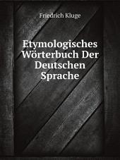 Etymologisches W?rterbuch Der Deutschen Sprache
