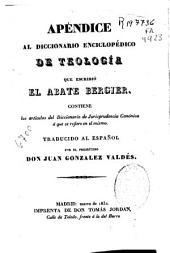 Diccionario enciclopédico de teología: Volumen 11