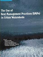The Use of Best Management Practices  BMPs  in Urban Watersheds PDF