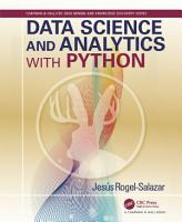 Data Science and Analytics with Python PDF