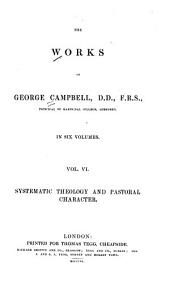 The Works of George Campbell: Volume 6