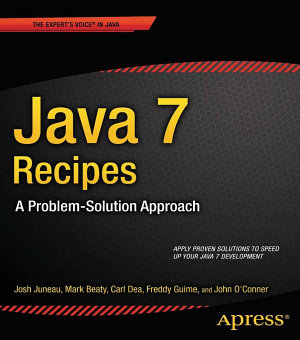 Java 7 Recipes PDF