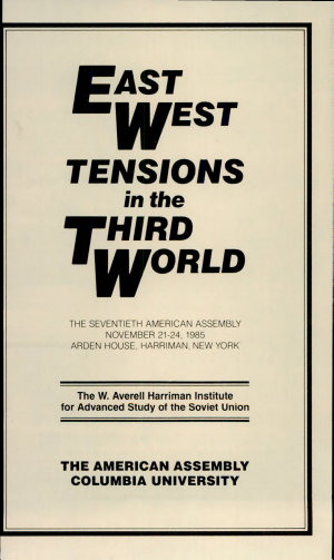 East West Tensions in the Third World