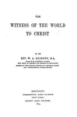 The Witness of the World to Christ PDF