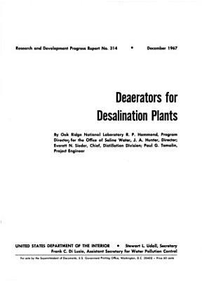 Deaerators for Desalination Plants