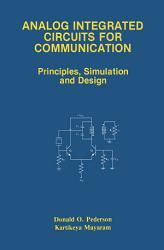 Analog Integrated Circuits for Communication PDF