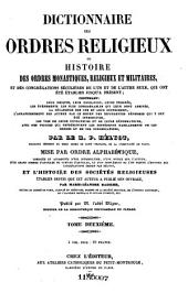 Encyclopédie théologique: ou Série de dictionnaires sur toutes les parties de la science religieuse, Volume21