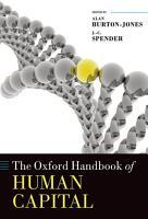 The Oxford Handbook of Human Capital PDF