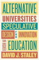 Alternative Universities PDF