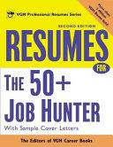 Resumes for the 50  Job Hunter  2nd Ed  PDF