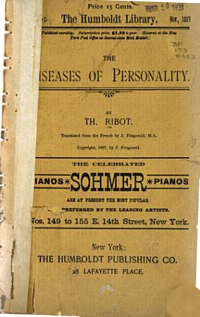 The Diseases of Personality PDF