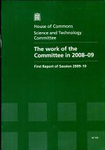 The Work of the Committee In 2008-09