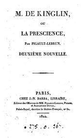 M. de Kinglin, ou La prescience