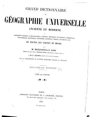 Grand dictionnaire de g  ographie universelle  ancienne et moderne PDF