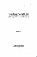 Structural Social Work PDF