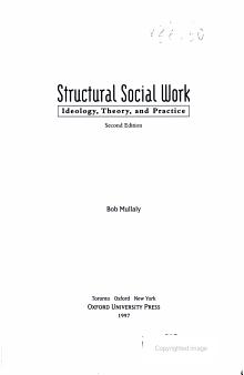 Structural Social Work PDF