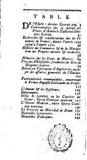 Journal encyclopedique ou Universel: Volume7,Partie3