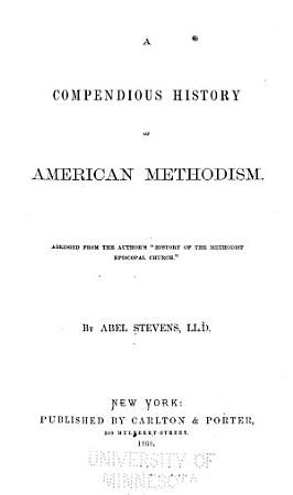 A Compendious History of American Methodism PDF