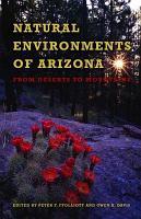 Natural Environments of Arizona PDF