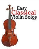 Download Easy Classical Violin Solos Book