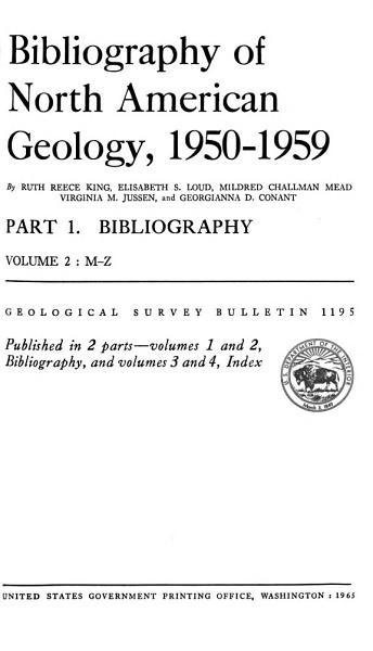 Geological Survey Bulletin PDF