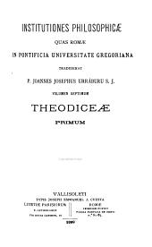 Institutiones philosophicae: quas Romae in Pontificia Universitate Gregoriana, Volume 7