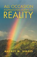 All Occasion Inspirational Poems of Reality PDF