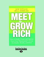 Meet and Grow Rich  Large Print 16pt  PDF