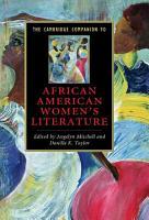 The Cambridge Companion to African American Women s Literature PDF